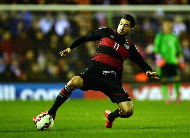 Eren Can U21 England v U21 Germany - International Friendly